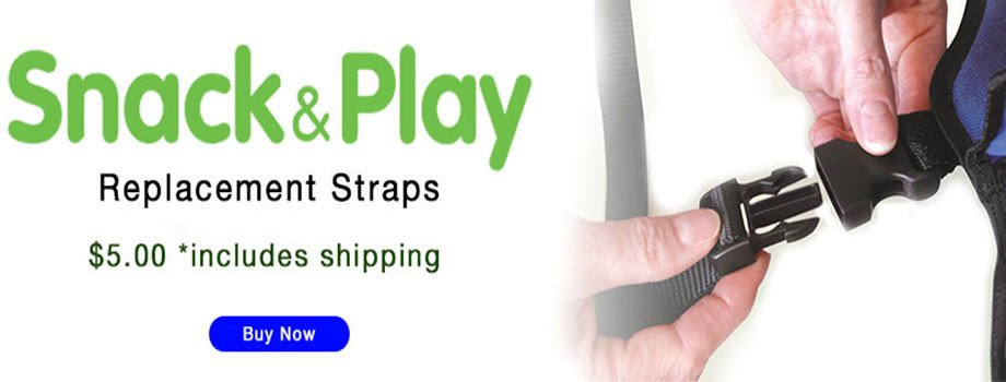 Snack & Play Travel Tray Replacement Straps