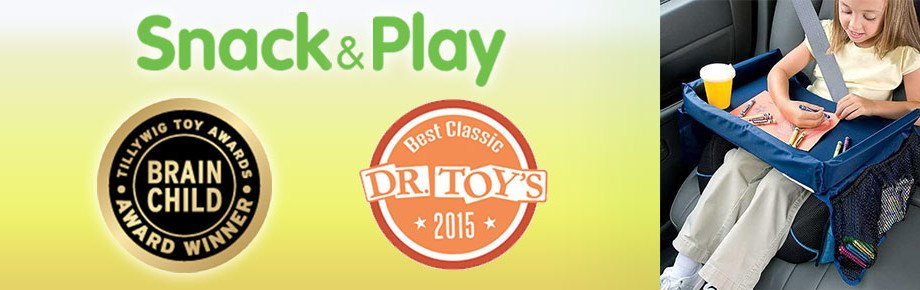 Dr. Toy Award 2015 and Brainchild Award - Snack and Play Travel Tray